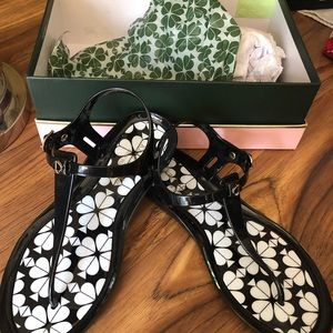 Kate Spade Jelly Sandals Tallula NIB size 8